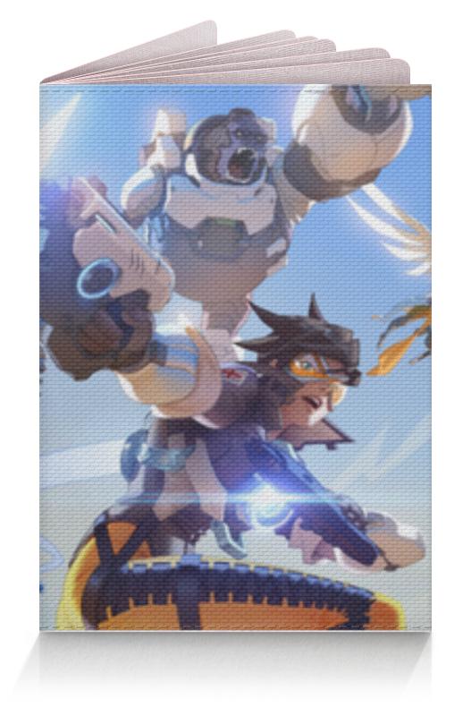 Обложка для паспорта Printio Overwatch heroes