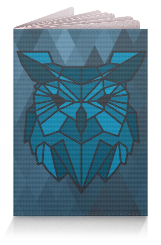 Обложка для паспорта Printio Обложка геометричная сова обложка для паспорта printio статуя каина в саду тюильри