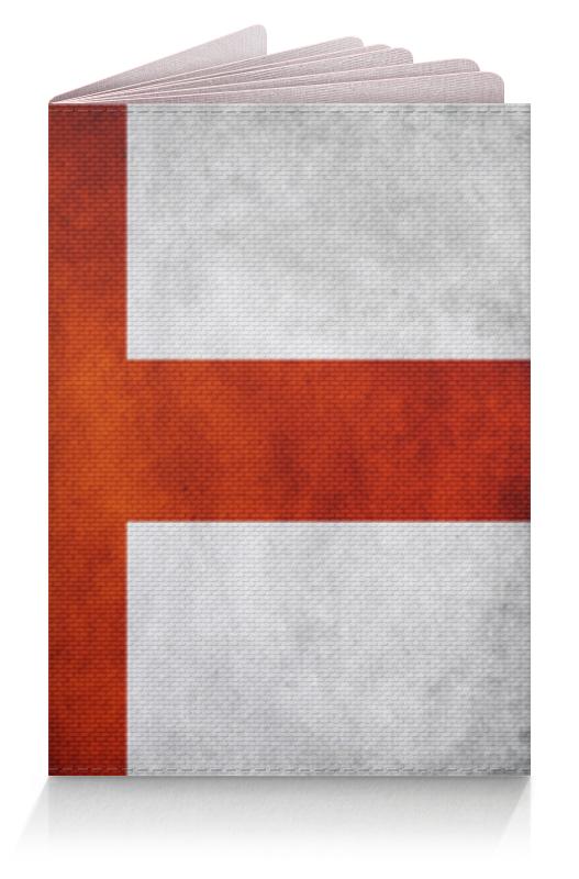 Обложка для паспорта Printio Флаг англии rubies мини шляпка флаг англии