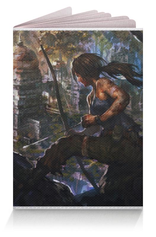 Обложка для паспорта Printio Лара крофт (tomb raider) аудио наушники philips наушники she3855sg 00