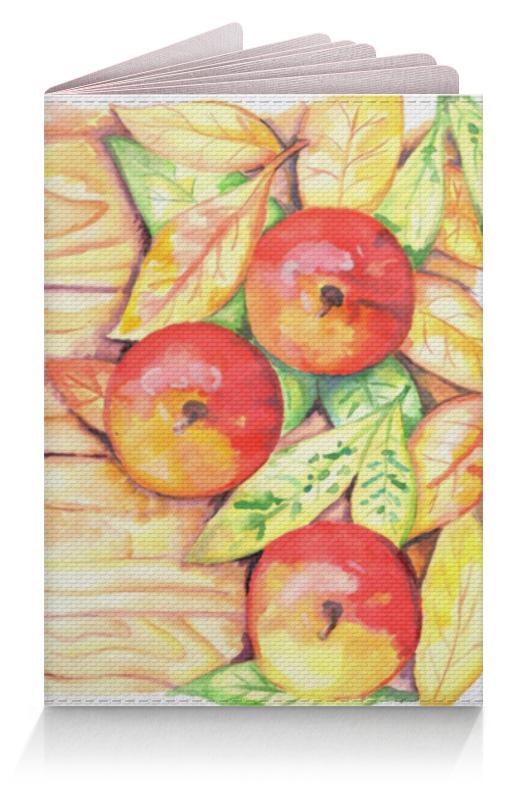 Обложка для паспорта Printio Осенние яблоки длинные осенние кaрдигaны
