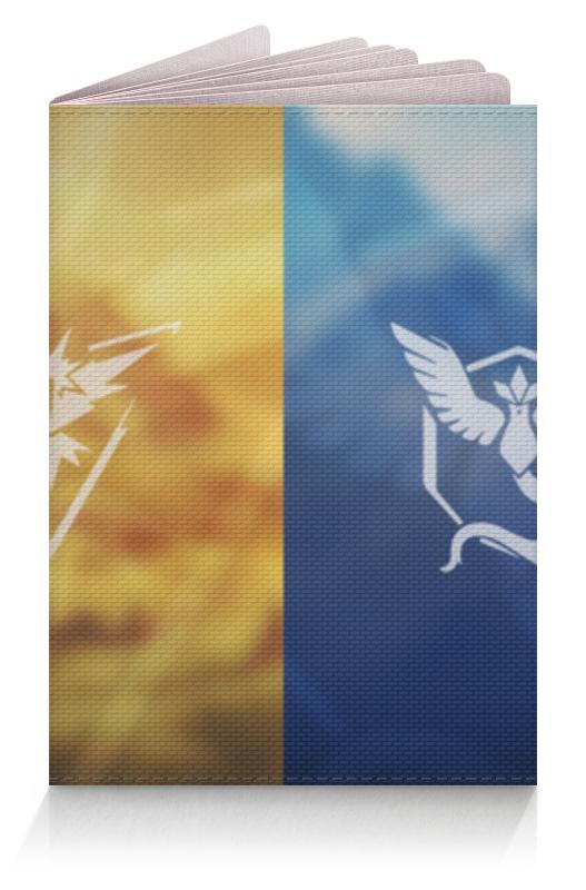 Обложка для паспорта Printio Покемон гоу (pokemon go) гоу диего гоу спасем луну