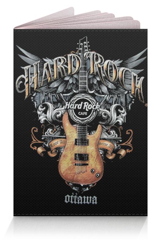 Обложка для паспорта Printio Музыка. hard rock музыка для презентация