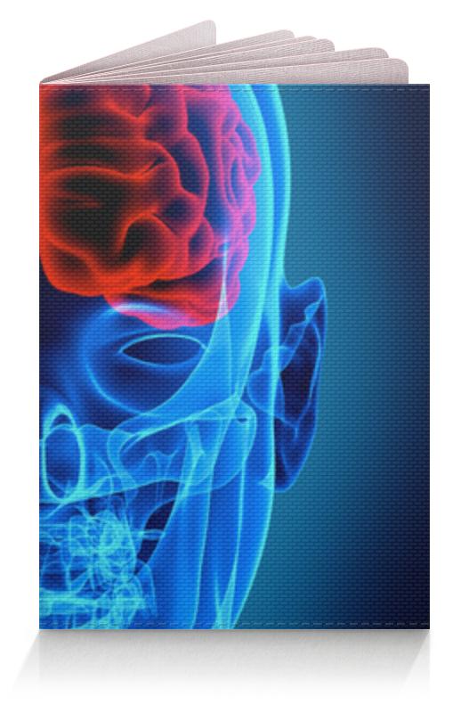 Обложка для паспорта Printio X-ray skull