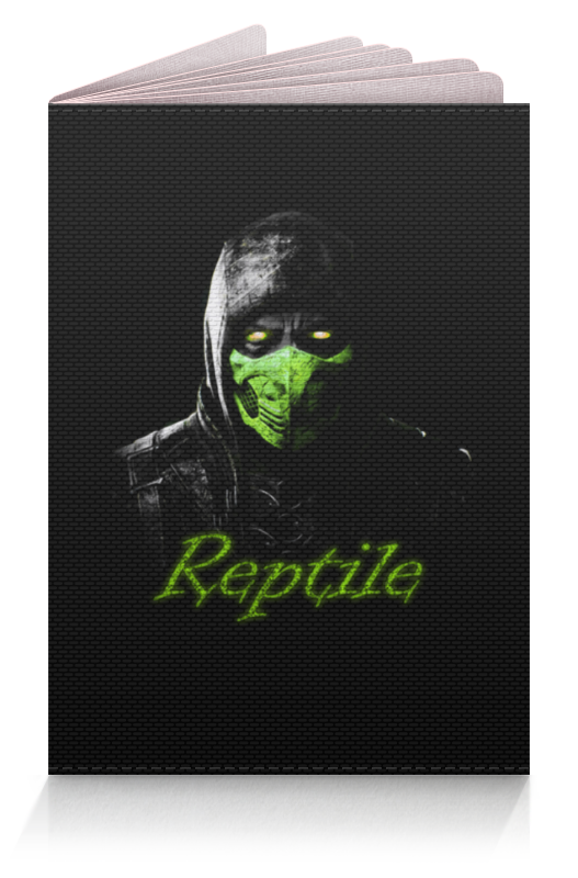 Обложка для паспорта Printio Reptile joseph thomas le fanu guy deverell 1 гай деверелл 1 на английском языке