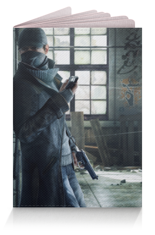 Обложка для паспорта Printio Watch dogs (сторожевые псы) худи print bar watch dogs