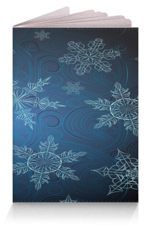Обложка для паспорта Printio Снежинка
