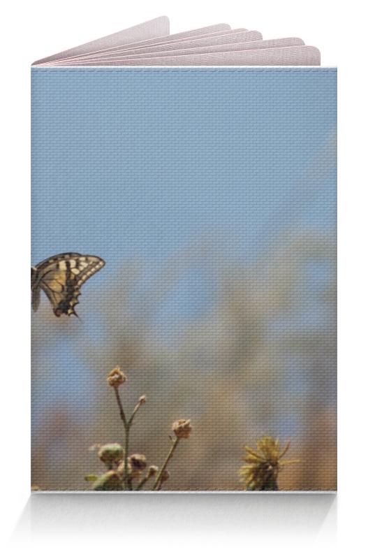 Обложка для паспорта Printio Бабочка махаон махаон