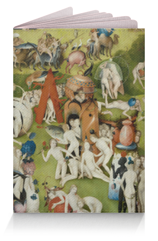 Обложка для паспорта Printio Сад земных наслаждений юбка в складку printio сад земных наслаждений