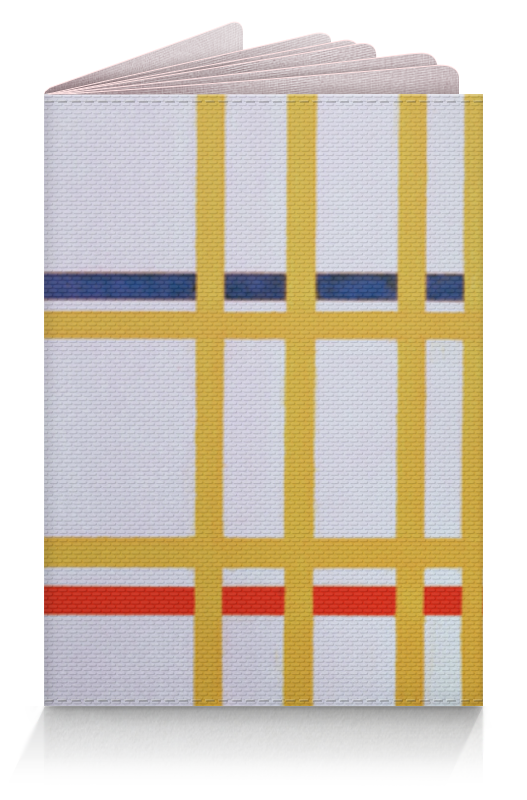 Обложка для паспорта Printio Нью-йорк 1 (питер мондриан)