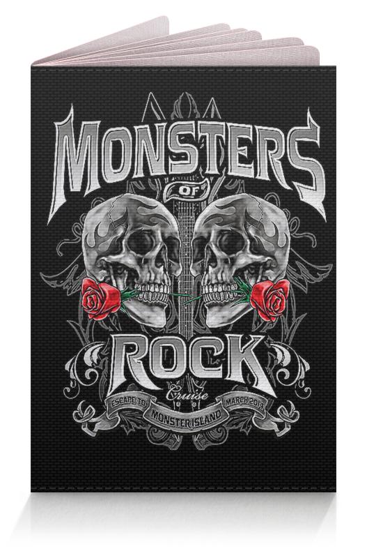 Обложка для паспорта Printio Музыка. monsters rock музыка для презентация