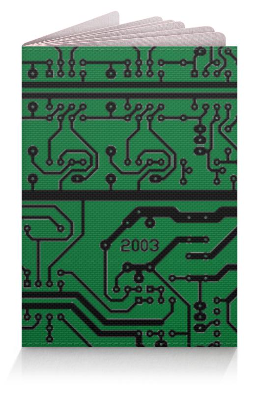 Обложка для паспорта Printio Электроника электроника в автомобиле вып 123