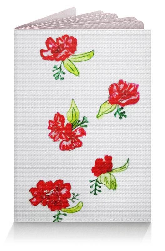 Обложка для паспорта Printio Обложка красные цветы обложка для паспорта printio цветы