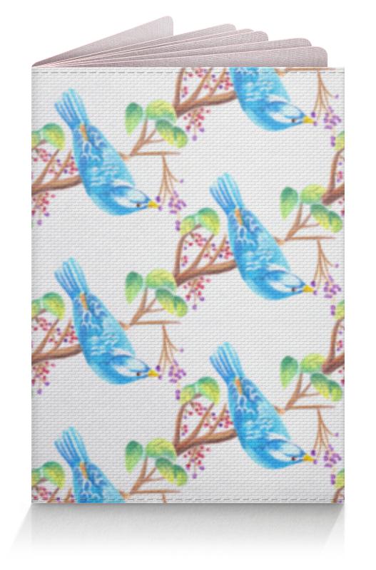 Обложка для паспорта Printio Птички