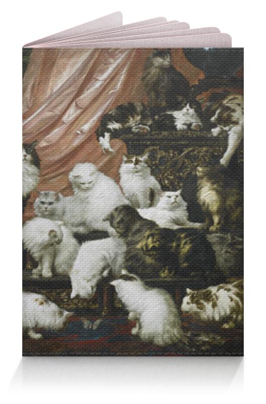 Обложка для паспорта Printio Любовники моей жены (карл калер) сыновья и любовники