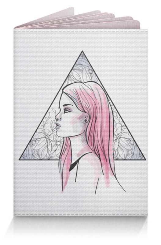 цена Printio Модная современная девушка в треугольнике онлайн в 2017 году