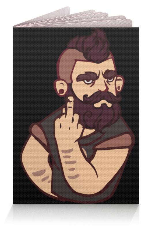 Обложка для паспорта Printio Bearded / бородач обложка для паспорта printio bearded бородач