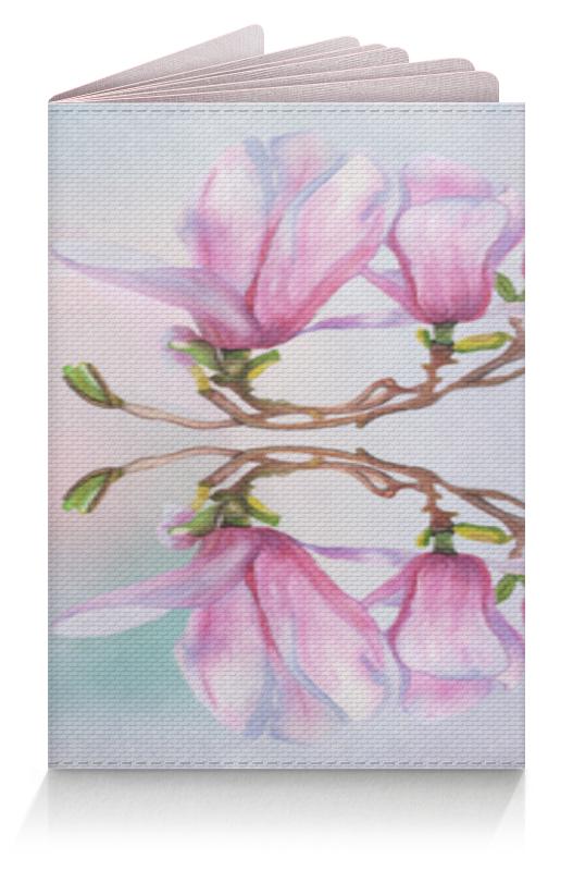 Обложка для паспорта Printio Магнолия магнолия цветок картины мягкий тонкий тпу резиновая крышка случая силикона геля для lenovo k3 a6000