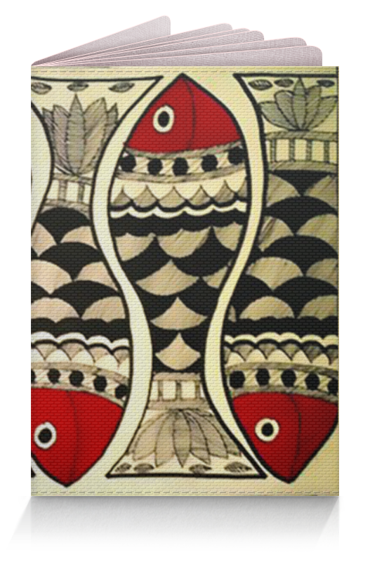 Обложка для паспорта Printio Рыбки обложка для паспорта printio улицы