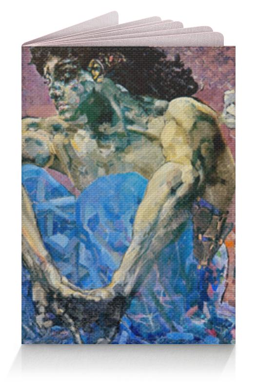 Обложка для паспорта Printio Демон сидящий (михаил врубель) врубель