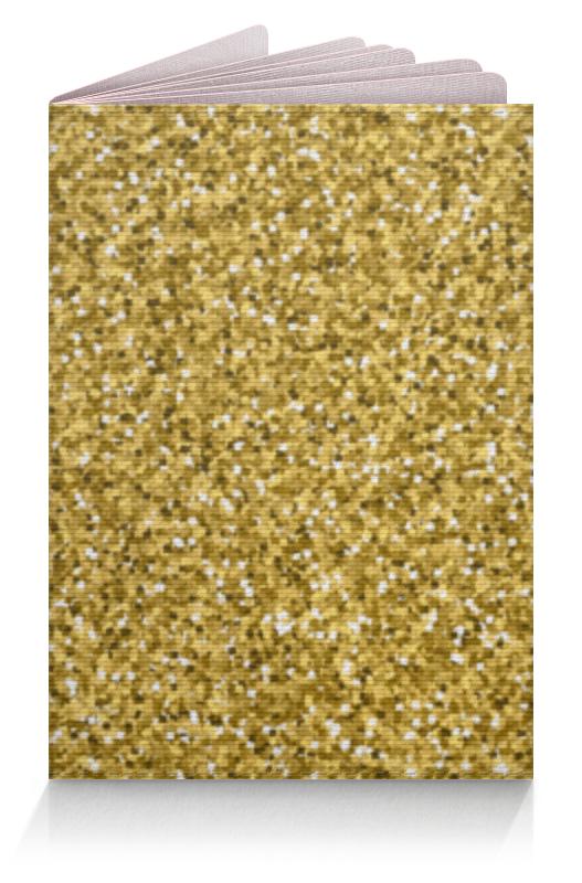 Обложка для паспорта Printio Золотой блеск набор золотой запас именной
