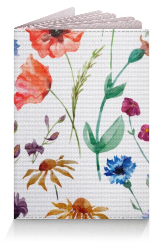 Обложка для паспорта Printio Полевые цветы обложка для паспорта printio цветы