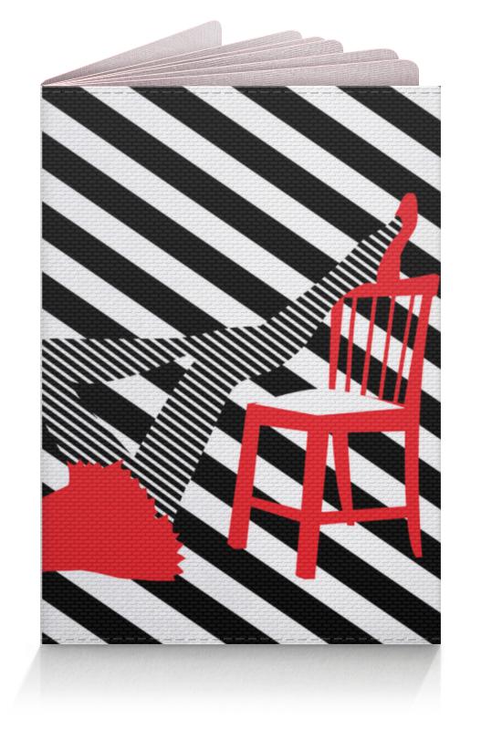 Обложка для паспорта Printio Женские ножки. полоска, поп арт дизайн