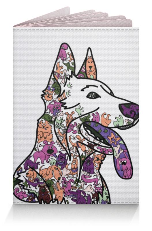 Обложка для паспорта Printio Забавные собаки