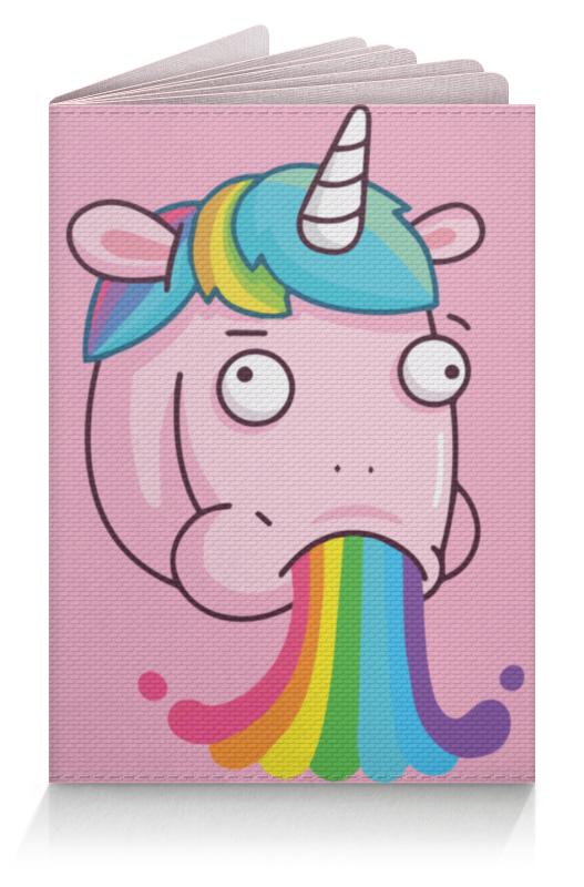 где купить Обложка для паспорта Printio Unicorn's rainbow / радуга единорога дешево
