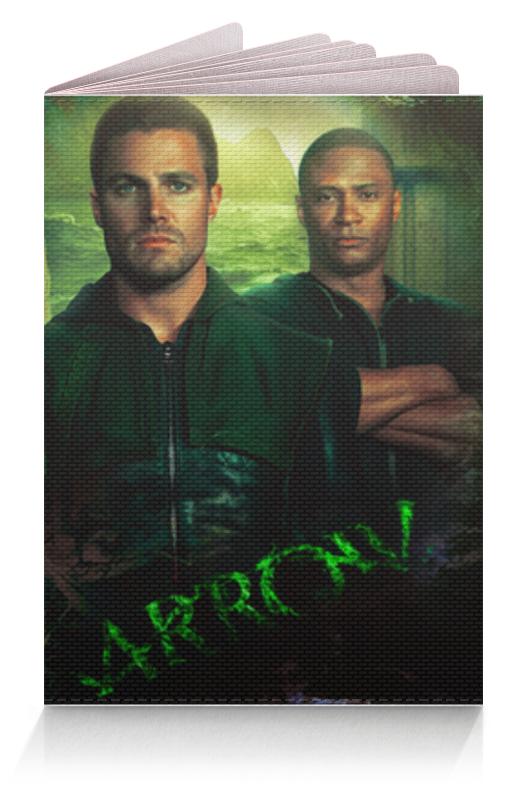 Обложка для паспорта Printio Зеленая стрела обложка на автодокументы пвх зеленая