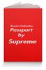 """Обложка для паспорта """"Passport by Supreme"""" - supreme, паспорт, обложка, passport, суприм"""