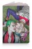 """Обложка для паспорта """"The Joker&Harley Quinn Design"""" - джокер, харли квинн, суперзлодеи, безумная любовь, любителям комиксов"""