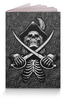 """Обложка для паспорта """"Black Sails Design"""" - череп, мужчине, черные паруса, джолли роджер, питраты"""