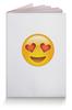 """Обложка для паспорта """"Сма́йлик """" - сердце, любовь, love is, романтика, смайлик"""