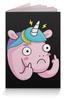 """Обложка для паспорта """"Unicorn / Единорог"""" - арт, животные, unicorn, единорог"""