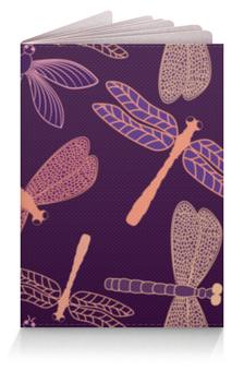 """Обложка для паспорта """"Стрекозы"""" - красиво, ярко, природа, насекомые, стрекозы"""