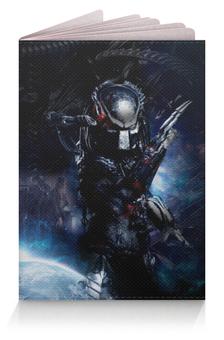 """Обложка для паспорта """"Чужой против Хищника / Alien vs Predator"""" - хищник, рисунок, кино, чужой"""