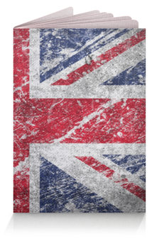 """Обложка для паспорта """"Британский Флаг"""" - great britain, union jack"""
