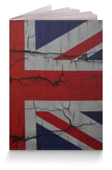 """Обложка для паспорта """"Британский Флаг"""" - англия, britain"""