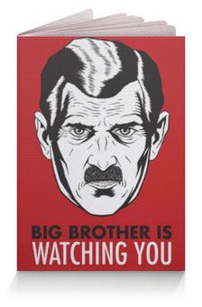 """Обложка для паспорта """"Big Brother"""" - big brother, 1984, оруэлл"""