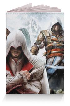 """Обложка для паспорта """"Кредо ассасина"""" - assassins creed"""