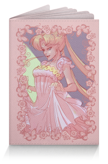 """Обложка для паспорта """"Moon Princess"""" - аниме, принцесса, луна, sailor moon, серенити"""
