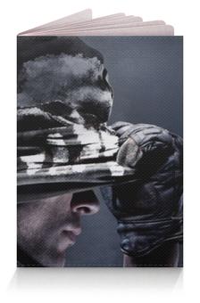 "Обложка для паспорта ""Солдат (Cod)"" - армия, война, call of duty"