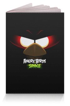 "Обложка для паспорта ""Space (Angry Birds)"" - игры, space, мультфильм, птица, angry birds"