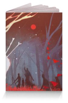 """Обложка для паспорта """"Dying Stars"""" - арт, рисунок, олень, охота, темное фэнтези"""