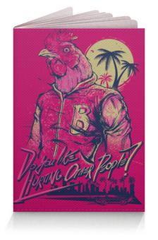"""Обложка для паспорта """"Hotline Miami"""" - игры, 23 февраля, hotline miami, хотлайн майами"""