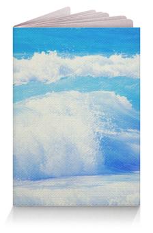 """Обложка для паспорта """"Море Волны"""" - волна"""