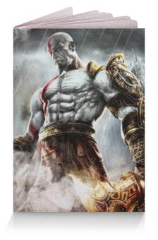 """Обложка для паспорта """"Кратос (Бог Войны)"""" - кратос"""