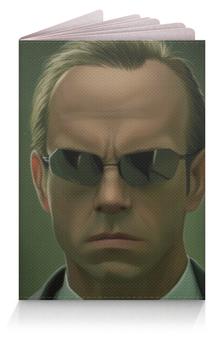 """Обложка для паспорта """"Агент Смит (Матрица)"""" - агент смит"""
