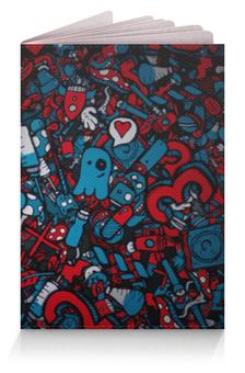 """Обложка для паспорта """"Любовь среди хаоса"""" - сердце, любовь, хаос"""